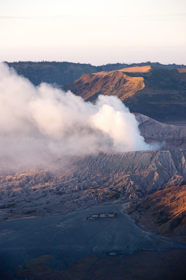 Sonnenaufgang Mt-Bromo stockbilder