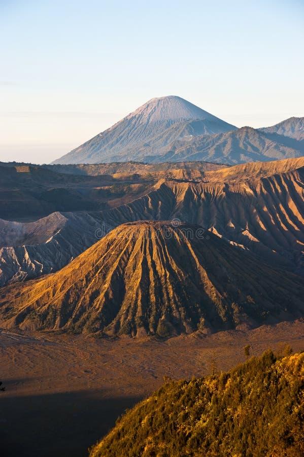 Sonnenaufgang Mt-Bromo lizenzfreie stockfotos