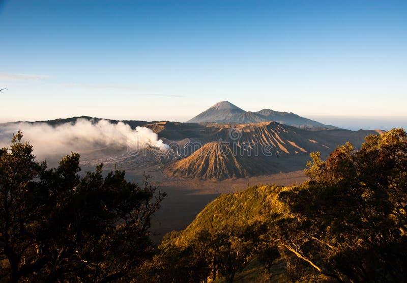 Sonnenaufgang Mt-Bromo stockbild