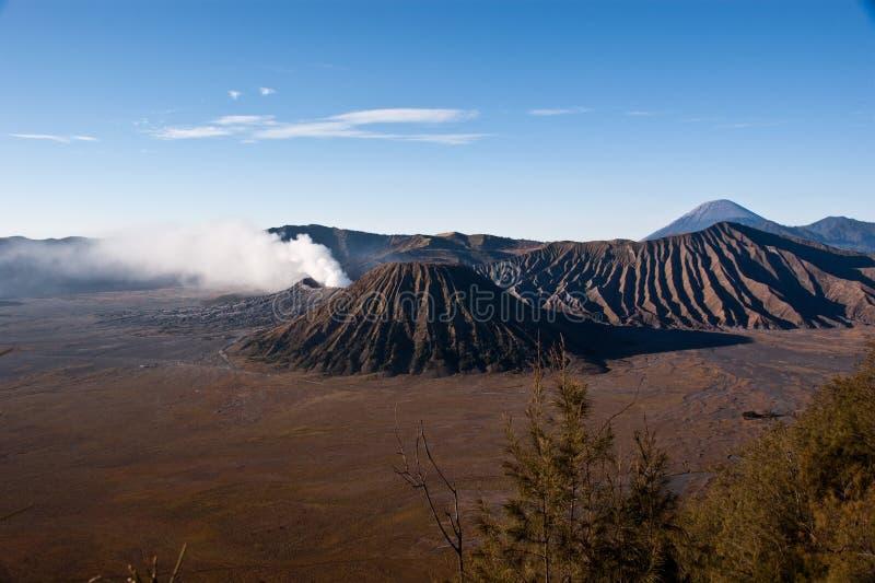 Sonnenaufgang Mt-Bromo lizenzfreie stockbilder