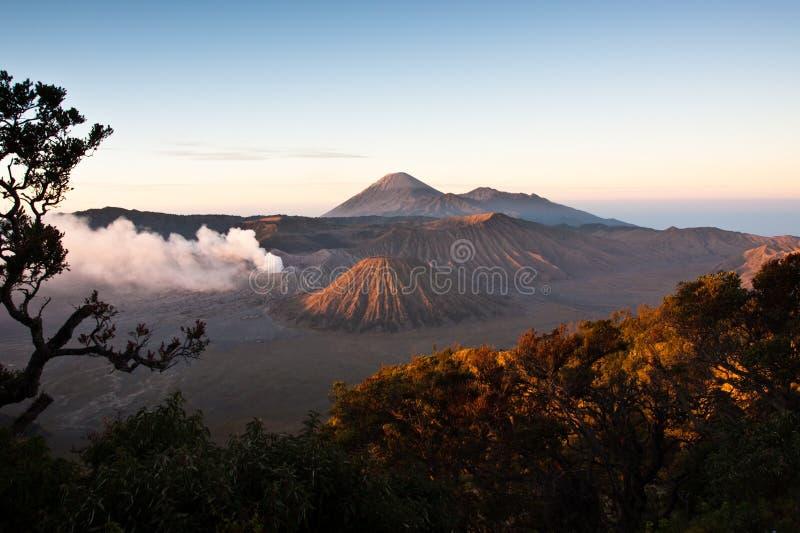 Sonnenaufgang Mt-Bromo stockfoto