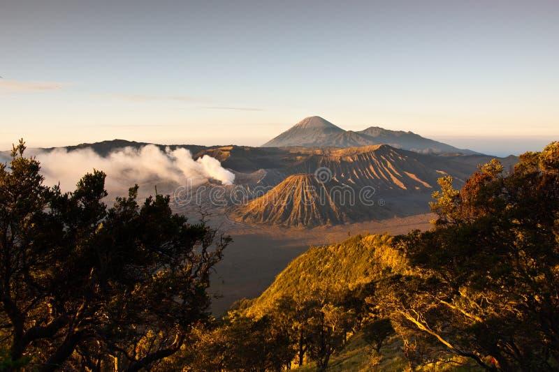 Sonnenaufgang Mt-Bromo lizenzfreies stockfoto
