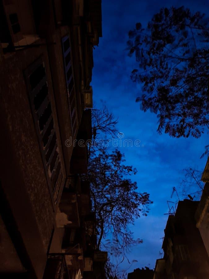 Sonnenaufgang ohne Sonne lizenzfreies stockbild