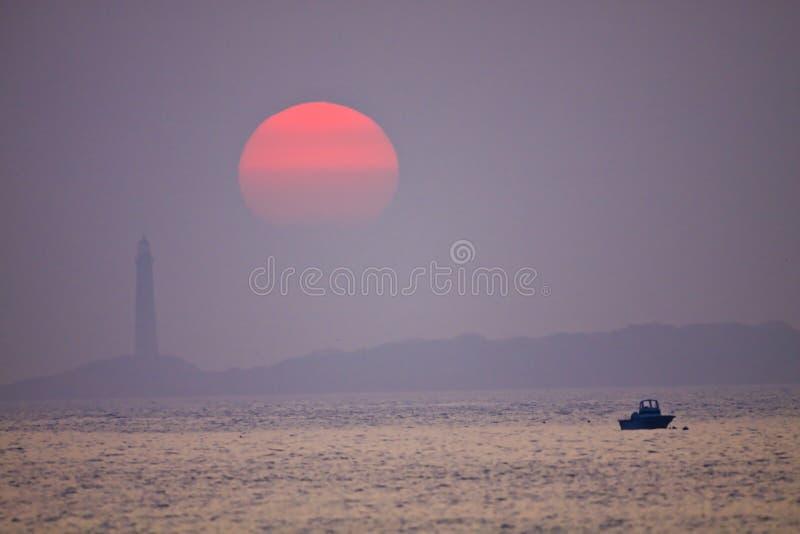 Sonnenaufgang-Ruhe stockbilder
