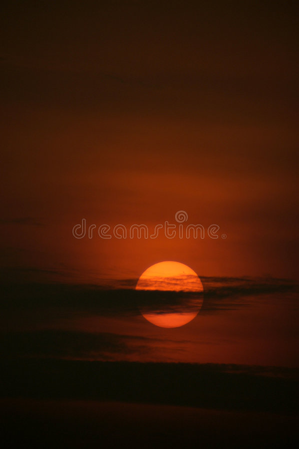 Sonnenaufgang, Singapur lizenzfreies stockfoto