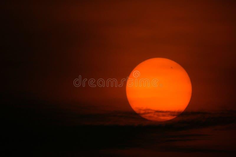 Sonnenaufgang, Singapur lizenzfreies stockbild