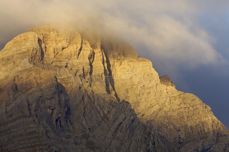 Sonnenaufgangwolken stockfotografie