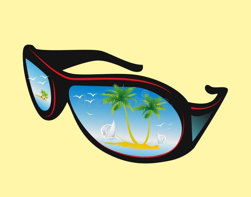 Sonnenbrille, lizenzfreie abbildung