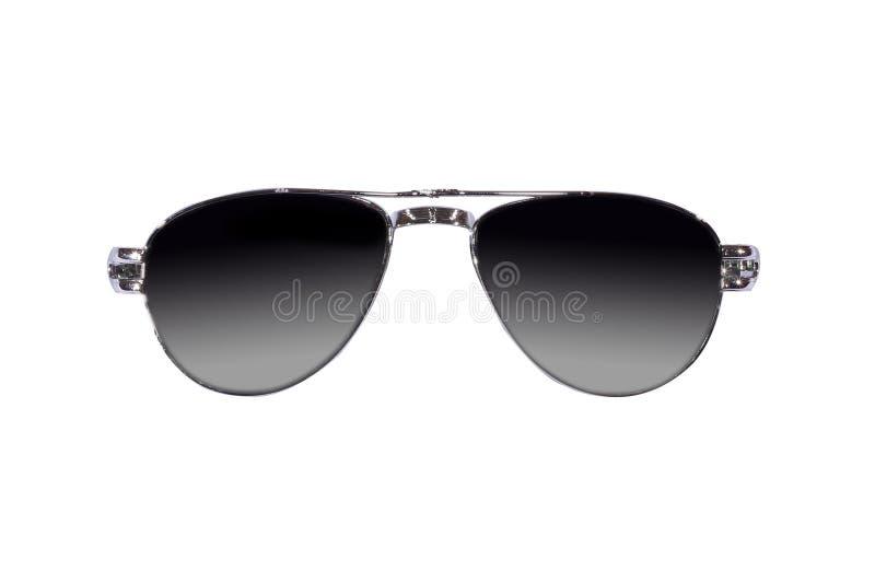 Sonnenbrille mit lokalisiert stockfotos