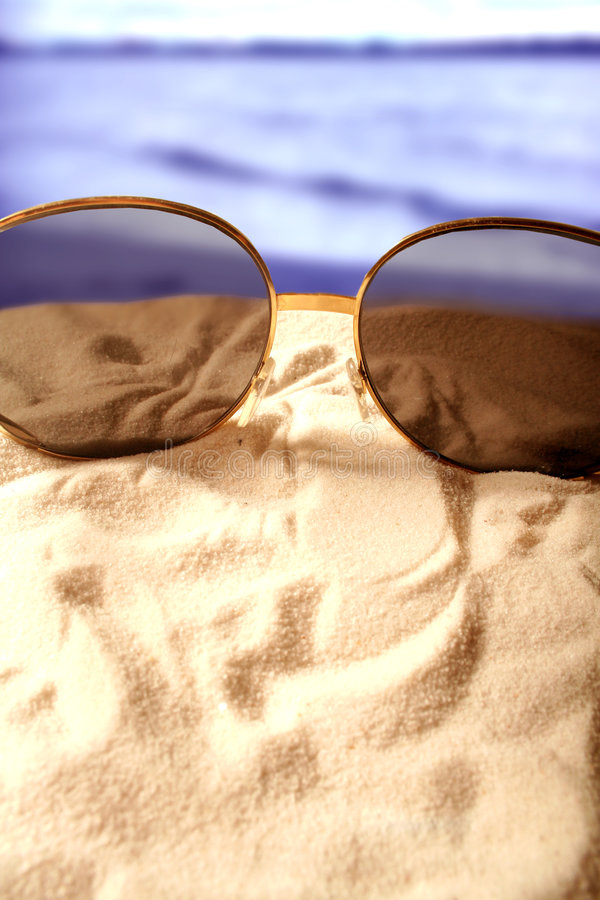 Sonnenbrillen lizenzfreie stockfotos
