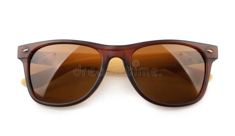 Sonnenbrillen getrennt auf weißem Hintergrund lizenzfreie stockfotos