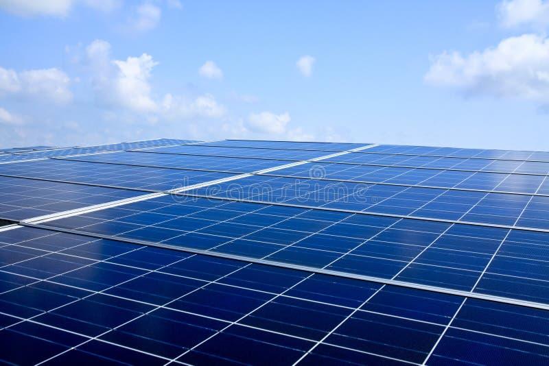 Sonnenenergie stockbilder