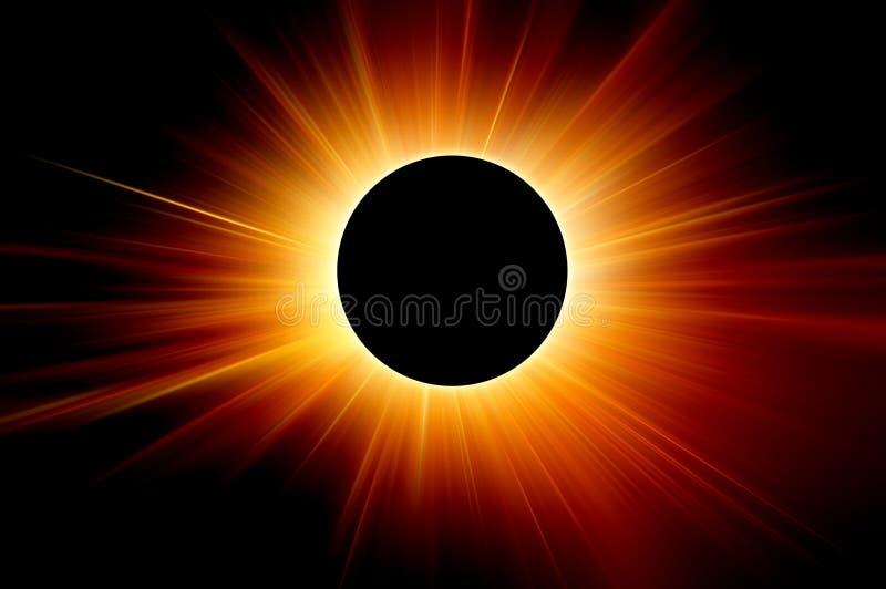 Sonnenfinsternis lizenzfreies stockbild