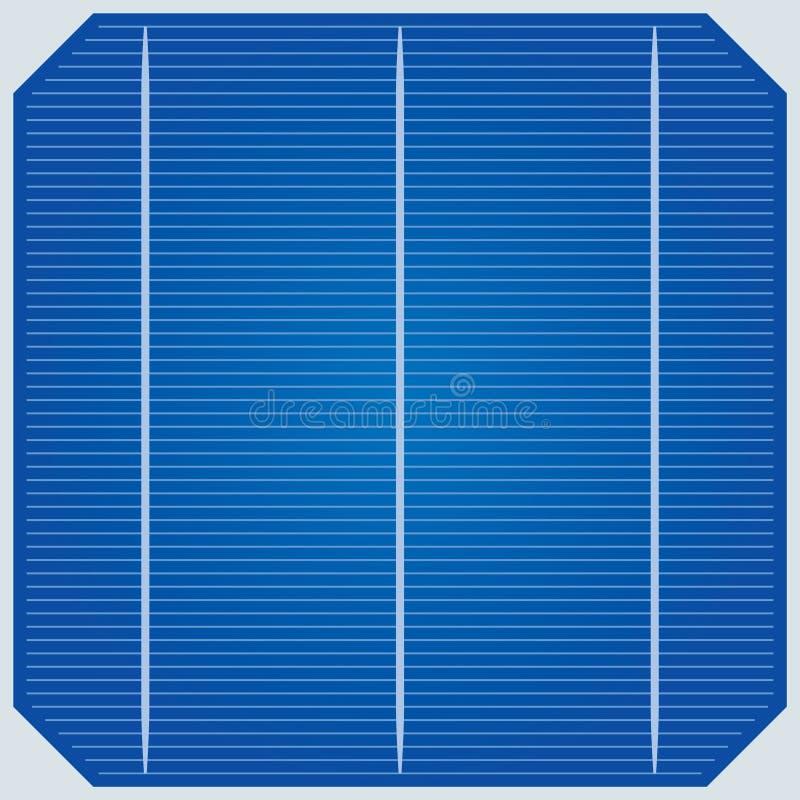 Sonnenkollektor lizenzfreie abbildung