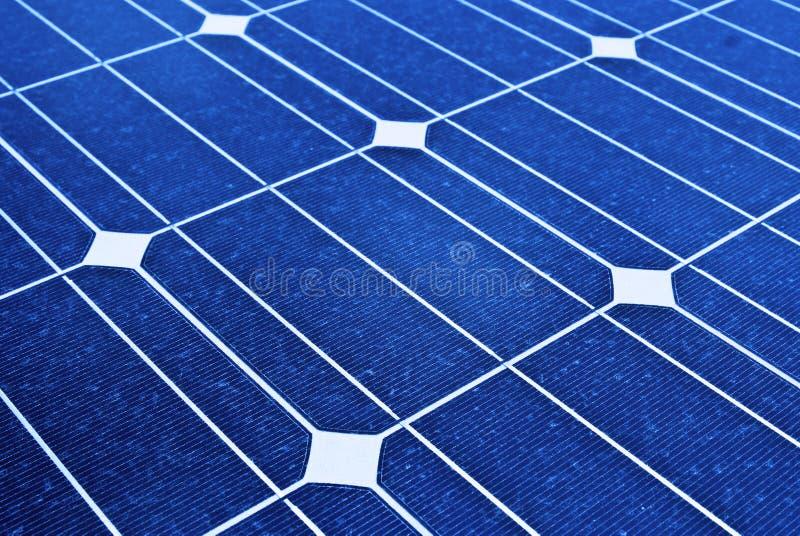 Sonnenkollektor. Foto-voltaische, auswechselbare Sparungen lizenzfreies stockbild