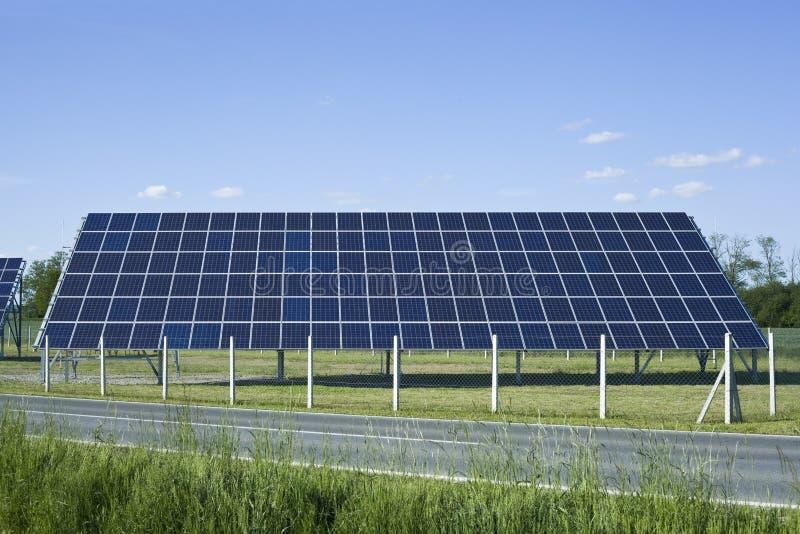 Sonnenkollektor-Kollektor lizenzfreies stockbild