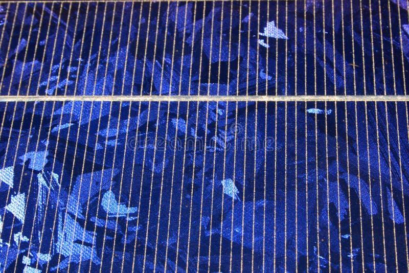 Sonnenkollektor-Kristalle lizenzfreie stockfotos