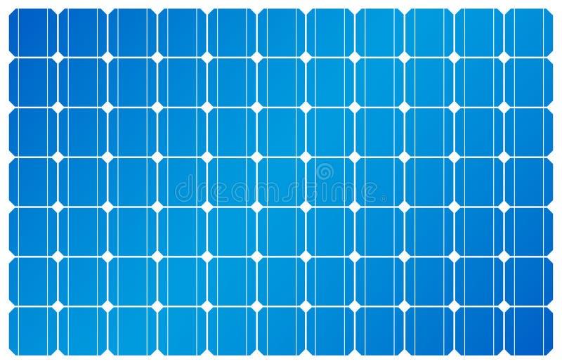 Sonnenkollektor, Solarenergie, Solarzelle stock abbildung