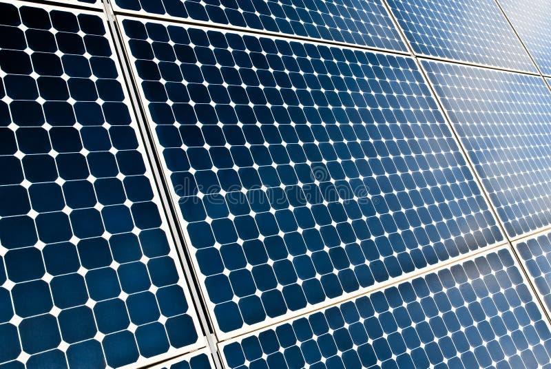 Sonnenkollektormodule lizenzfreie stockbilder