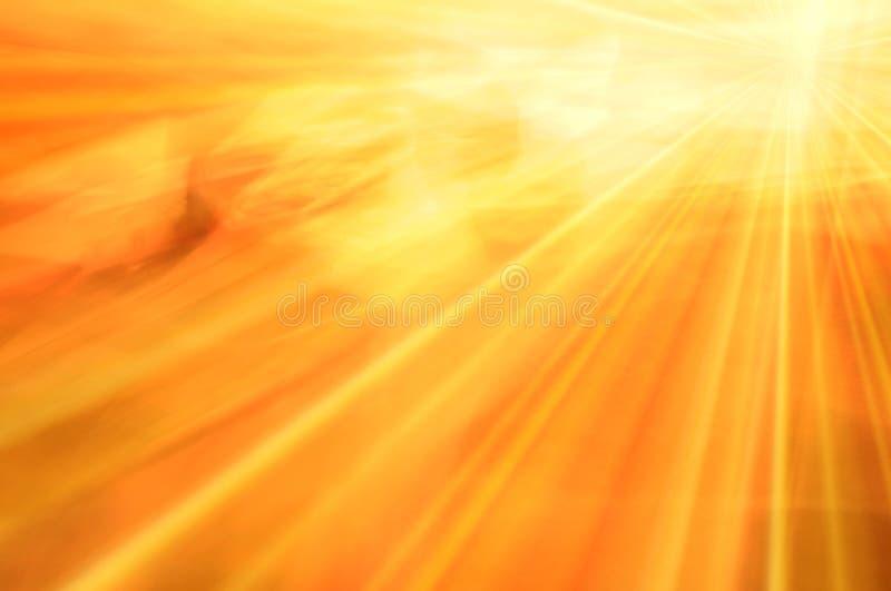 Sonnenschein-abstrakter Hintergrund lizenzfreie abbildung