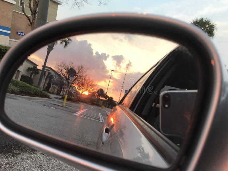 Sonnenschein bei Sanford stockfotos