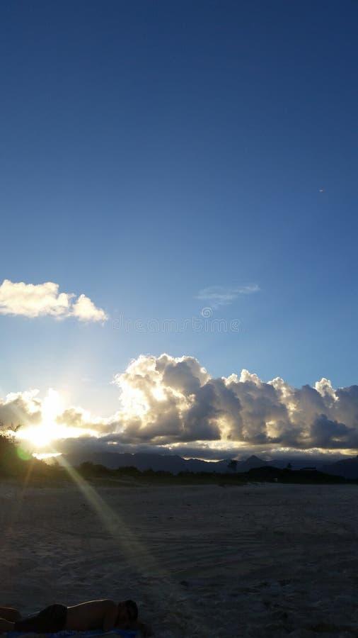 Sonnenschein Hawaii stockbilder