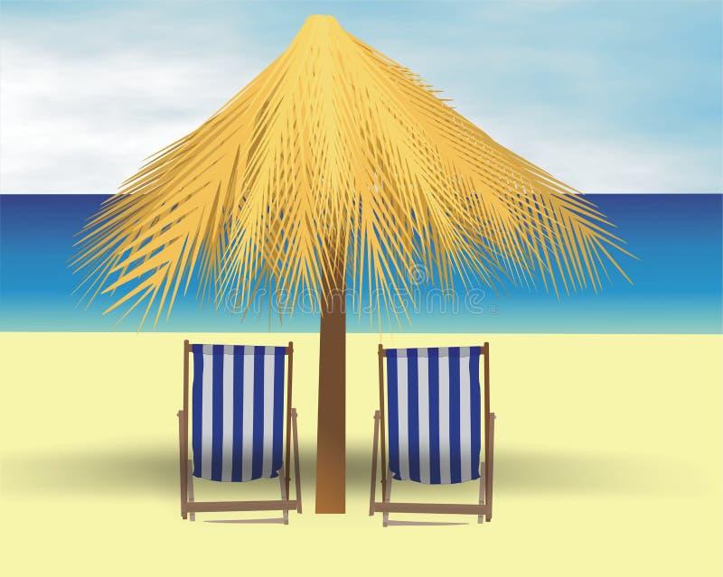 Sonnenschirm lizenzfreie abbildung