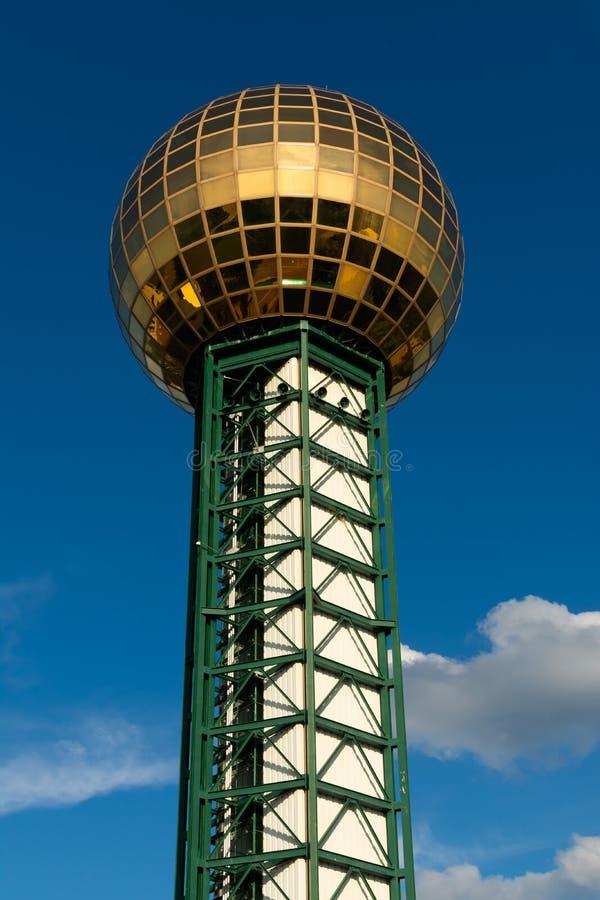 Sonnensphäre in Knoxville stockfoto