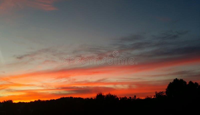 Sonnenuntergang stockbild