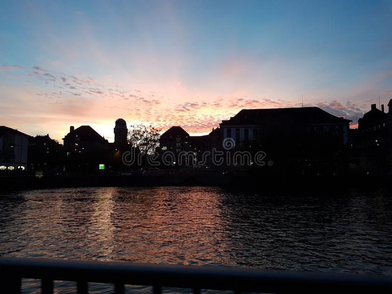 Sonnenuntergang 免版税图库摄影