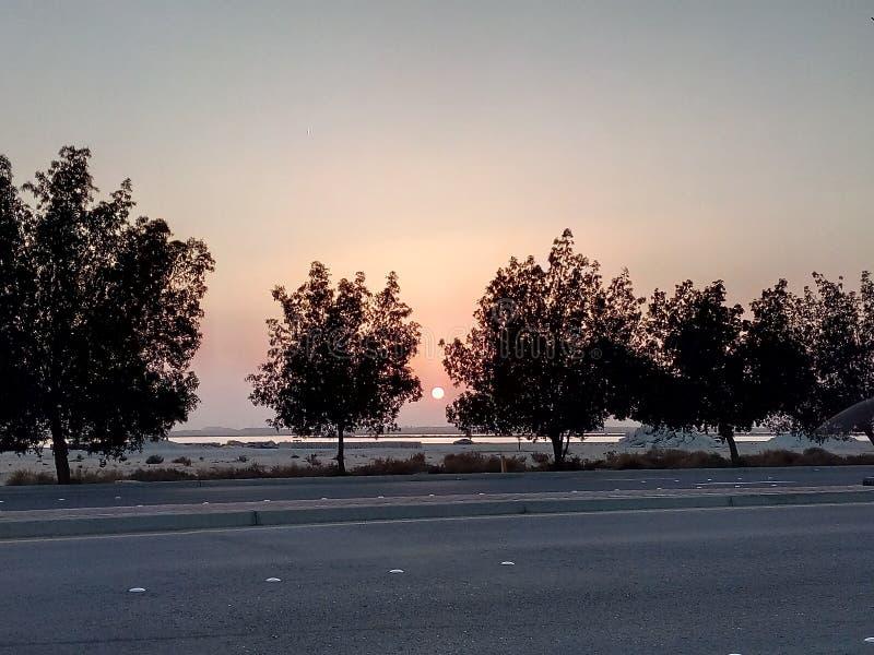 Sonnenuntergang, lizenzfreie stockbilder