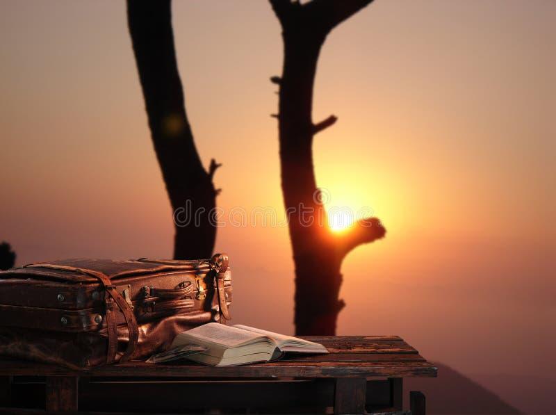 Sonnenuntergang. stockfotos