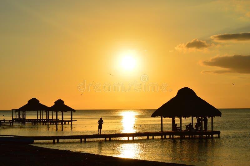 Sonnenuntergang 2 stockbilder