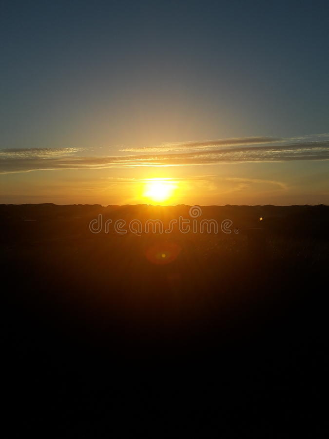 Sonnenuntergang 免版税库存照片