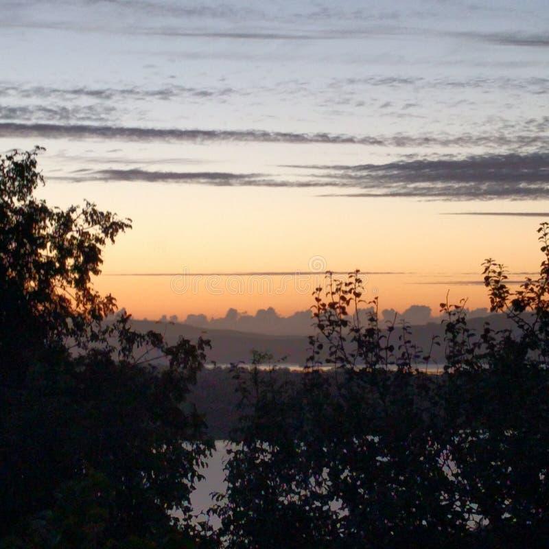 Sonnenuntergang fotografia de stock royalty free