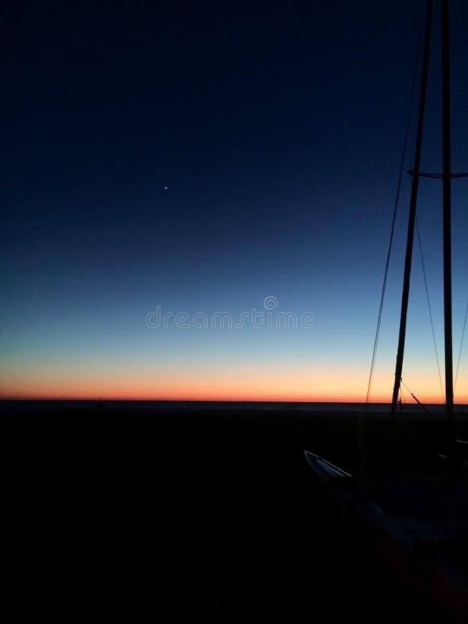 Sonnenuntergang in Florida stockbild