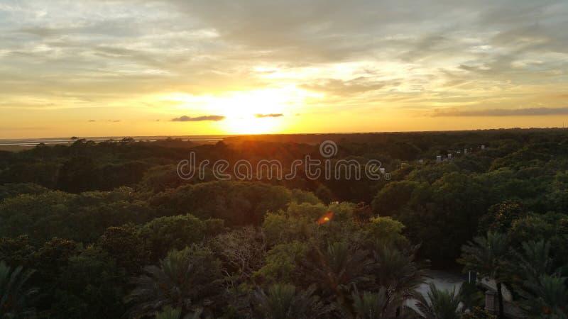Sonnenuntergang in Florida stockfotografie