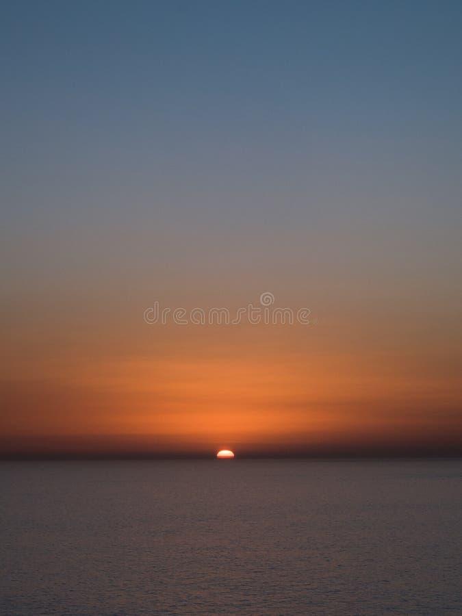 Sonnenuntergang in Gran Canaria lizenzfreie stockfotografie