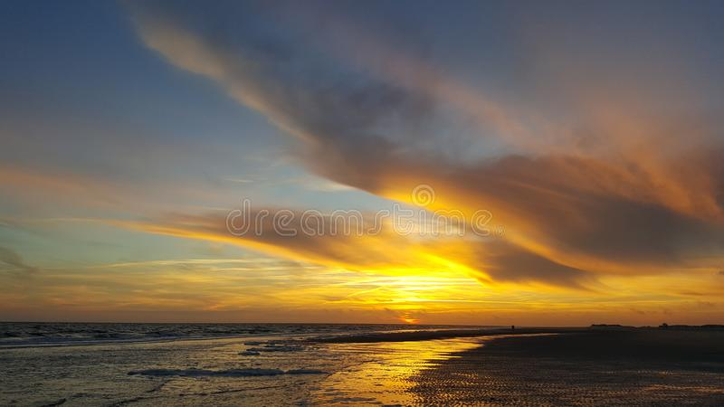Sonnenuntergang royalty free stock images