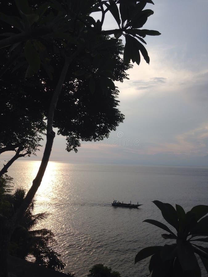 Sonnenuntergang neben Ihnen lizenzfreies stockbild