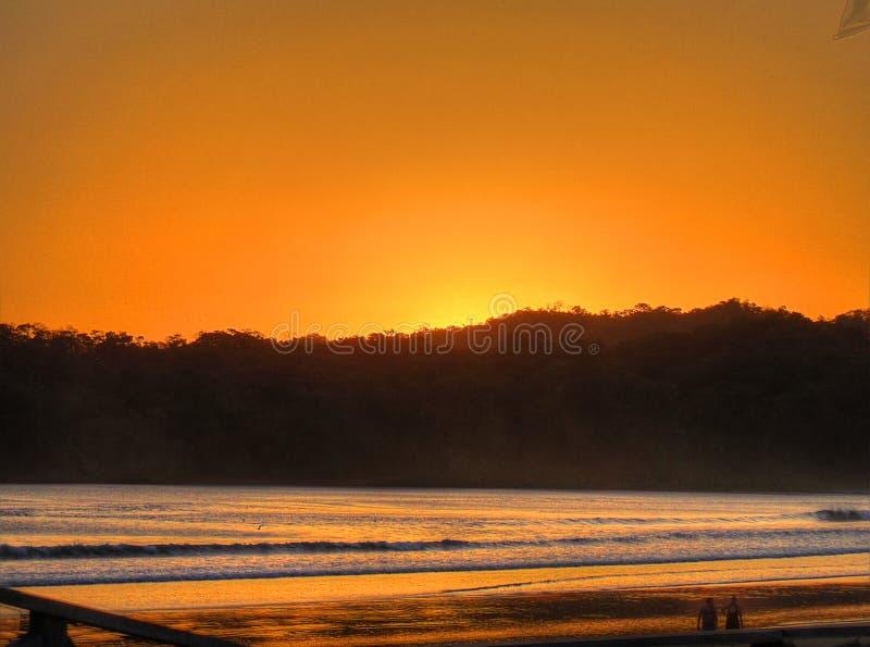Sonnenuntergang an u. x22; Venao& x22; stockfoto