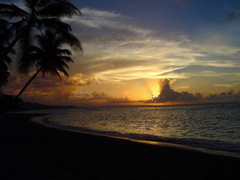 Sonnenuntergang-Verkollkommnung 1 lizenzfreies stockbild