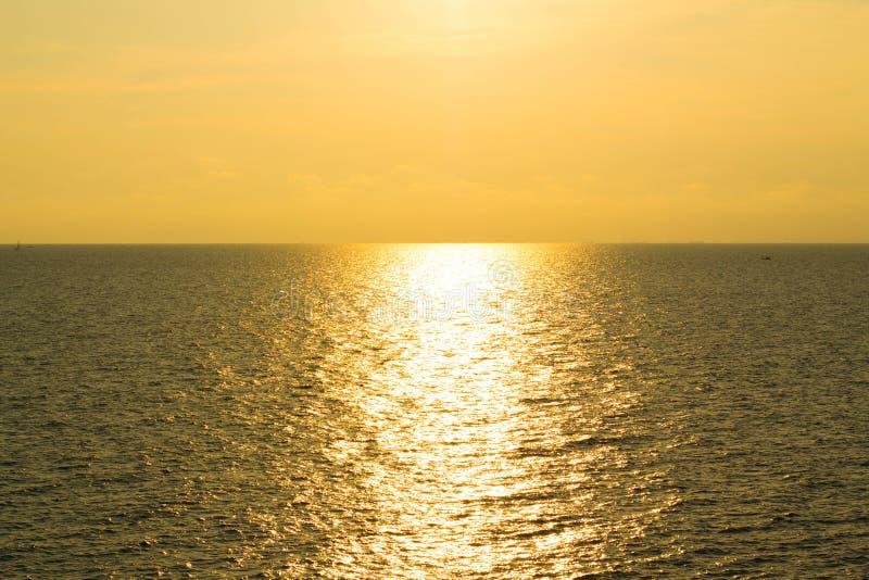Sonnenuntergangansicht stockbilder