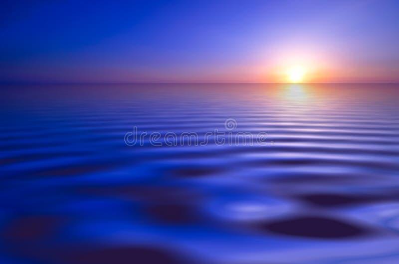 Sonnenunterganghintergrund stockfoto