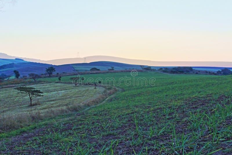Sonnenuntergangs-Tal stockbilder