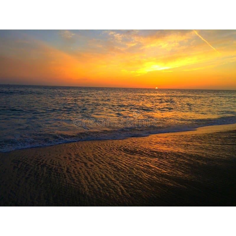 Sonnenuntergangschönheit lizenzfreies stockfoto