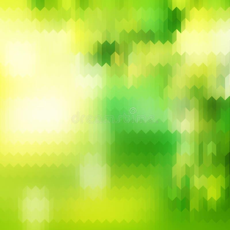 Sonnige abstrakte grüne Natur ENV 10 lizenzfreie abbildung