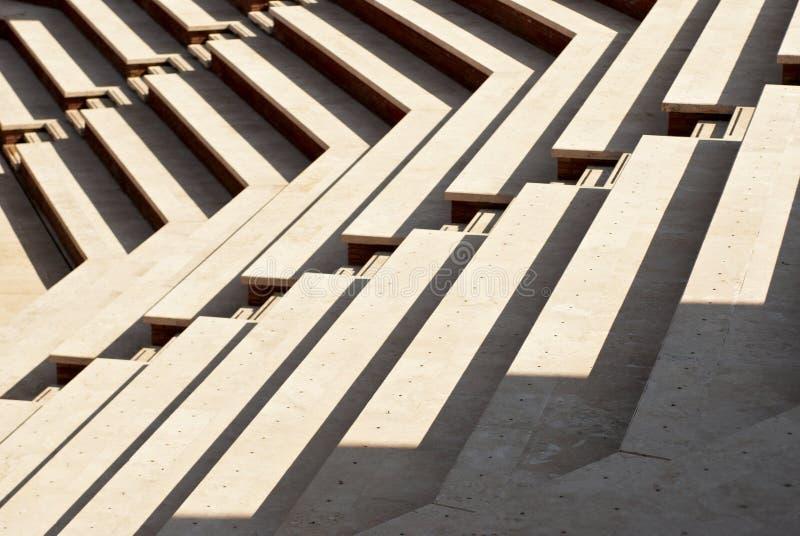 Sonnige Treppen stockfotos