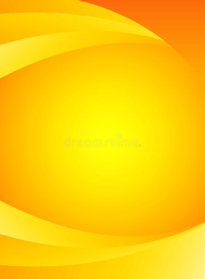 Sonniger Hintergrund lizenzfreie abbildung