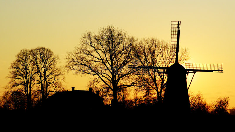 Sonniges Holland lizenzfreies stockbild